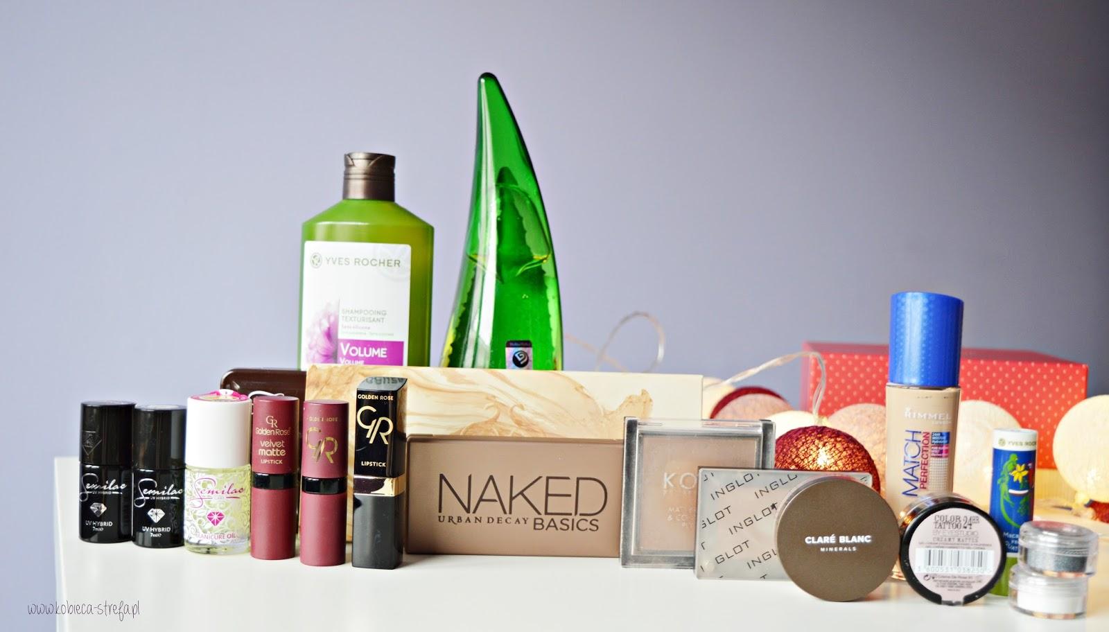 Hity kosmetyczne 2016 - Golden Rose, Semilac, Holika holika, Clare Blanc.