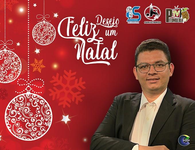 Desejamos a todos um, Feliz Natal!!