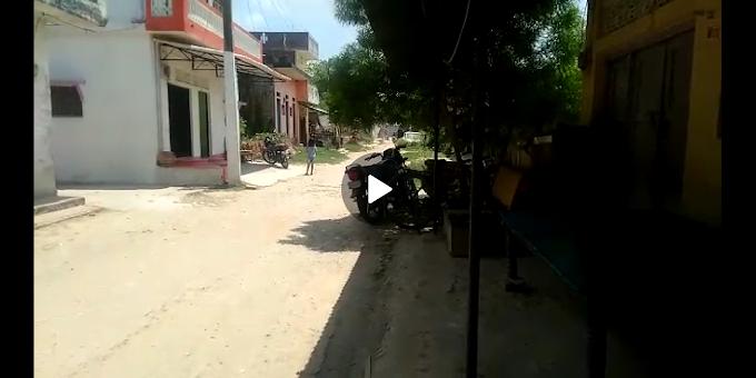 पथरा बाजार डाक खाने से हॉस्पिटल तक का सड़क मार्ग हुआ जर्जर