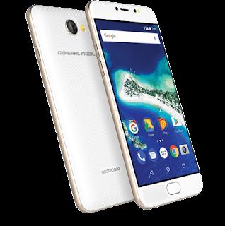 Анонси: GM6 - Android One смартфон зі сканером відбитка пальця і фронтальної спалахом
