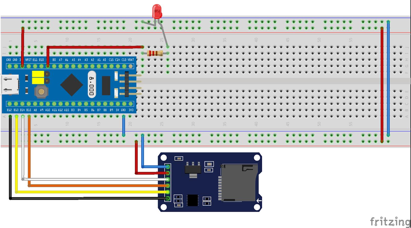 STM32 Без страху: STM32: підключення SD CARD по SPI з FATFS