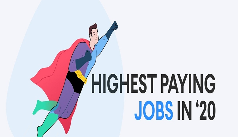 The Best Paying Jobs in 2020 #infographic