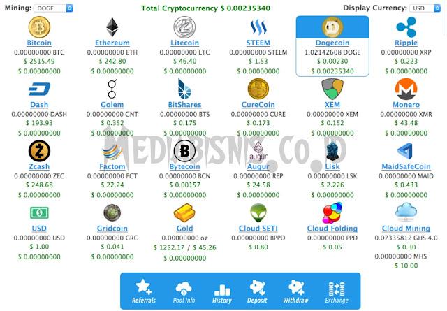 Cara Withdraw Crypto di Cloud Mining Eobot