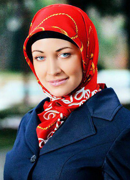 Hot Arabian Woman In Stylish Hijab-7514