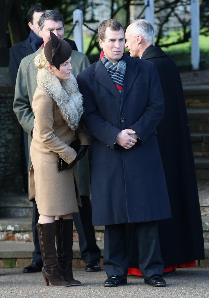 British Royal family on Christmas Day 6 - Traditional 75th Wedding Anniversary