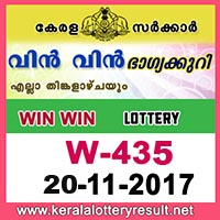 KERALA LOTTERY, kl result yesterday,lottery results, lotteries results, keralalotteries, kerala lottery, keralalotteryresult,   kerala lottery result, kerala lottery result live, kerala lottery results, kerala lottery today, kerala lottery result today, kerala   lottery results today, today kerala lottery result, kerala lottery result 20-11-2017, Win win lottery results, kerala lottery result   today Win win, Win win lottery result, kerala lottery result Win win today, kerala lottery Win win today result, Win win kerala   lottery result, WIN WIN LOTTERY W 435 RESULTS 20-11-2017, WIN WIN LOTTERY W 435, live WIN WIN LOTTERY   W-435, Win win lottery, kerala lottery today result Win win, WIN WIN LOTTERY W-435, today Win win lottery result, Win   win lottery today result, Win win lottery results today, today kerala lottery result Win win, kerala lottery results today Win   win, Win win lottery today, today lottery result Win win, Win win lottery result today, kerala lottery result live, kerala lottery   bumper result, kerala lottery result yesterday, kerala lottery result today, kerala online lottery results, kerala lottery draw,   kerala lottery results, kerala state lottery today, kerala lottare, keralalotteries com kerala lottery result, lottery today, kerala   lottery today draw result, kerala lottery online purchase, kerala lottery online buy, buy kerala lottery online