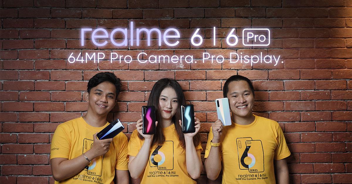 realme 6 series philippine launch