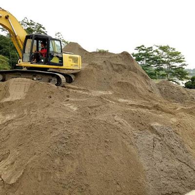 supplier pasir plester tangerang