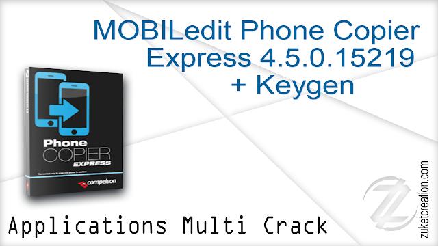 MOBILedit Phone Copier Express 4.5.0.15219 + Keygen