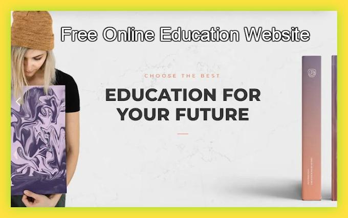 Best Free Essential Online Education Website Templates 2019