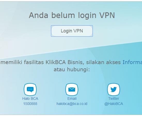 Cara Menggunakan VPN Tarumanagara di KlikBCA Bisnis 2