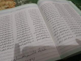Menulis 113 Bismillah di Awal Muharram