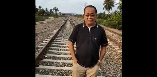 Sidak Kereta Api Sulawesi, Said Didu: Proyek Pencitraan Berujung Mangkrak?