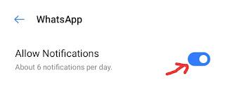 WhatsApp Notification Kaise Band Kare