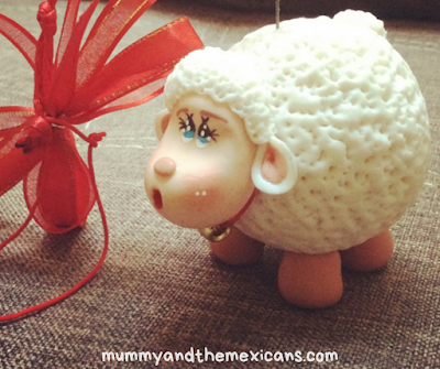 11 Mexican New Year Traditions And Superstitions - Image Shows A Small Model Sheep