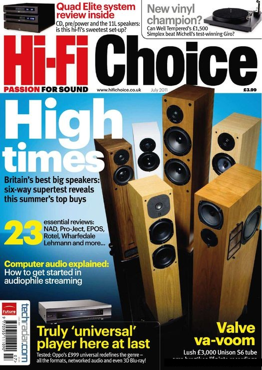 Novels & Magazine Free Download: Hi-Fi Choice - July 2011 UK
