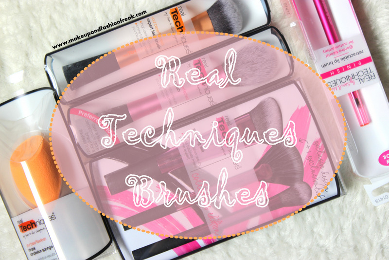 Real Techniques Makeup Brushes from iHerb.com
