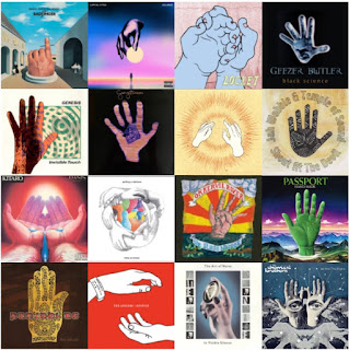 16 album covers featuring hands on them - part 2
