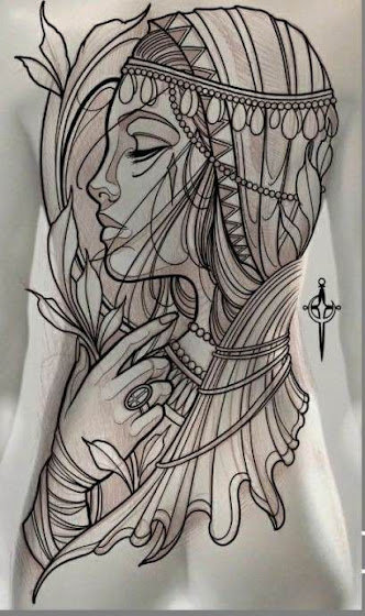 Full body art -Tattoos for women