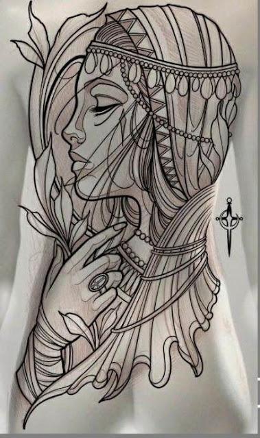 Full body art -Tattoos for women