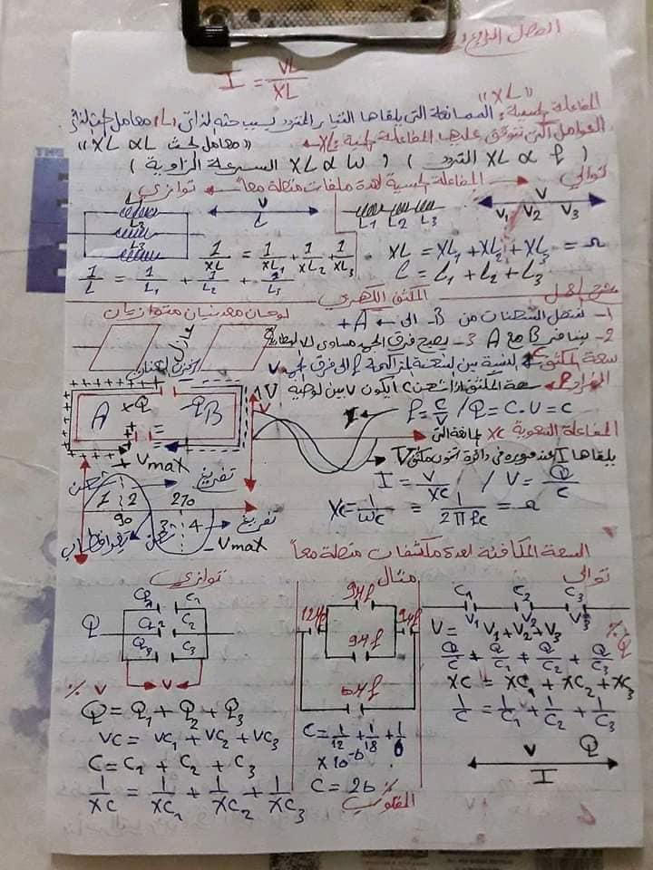 ملخص بسيط - قوانين الفيزياء للصف الثالث الثانوي في 10 ورقات - صفحة 2 9