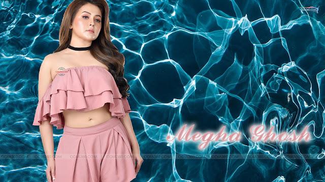 Odia Bengali Actress Megha Ghosh Hot HD Wallpaper Download