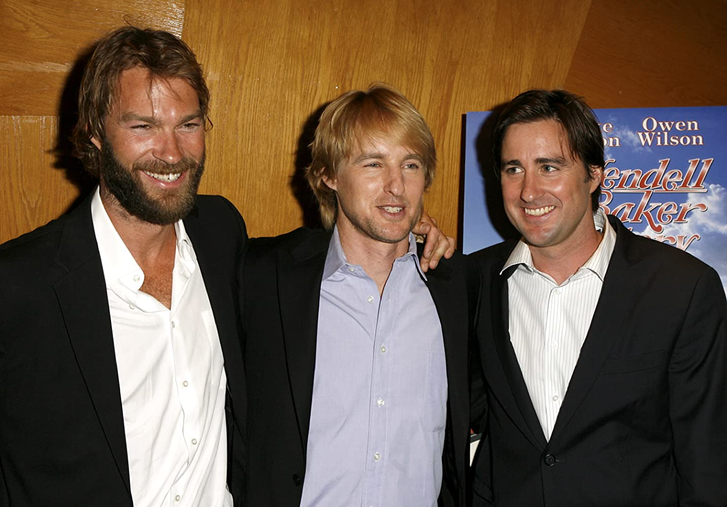 Luke Wilson, Owen Wilson, and Andrew Wilson