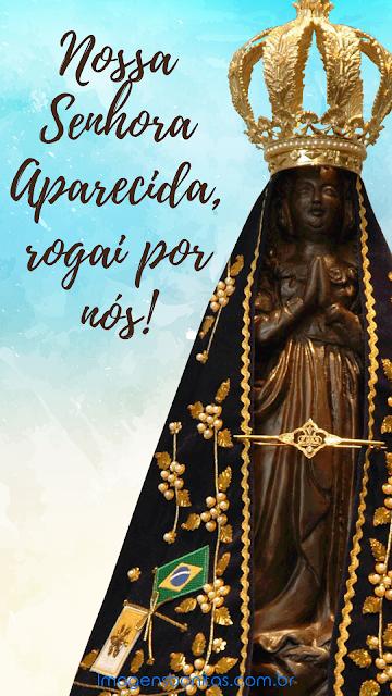Wallpaper de Nossa Senhora Aparecida para celular