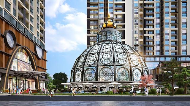 Lâu đài thuỷ kính tại Hinode Minh Khai