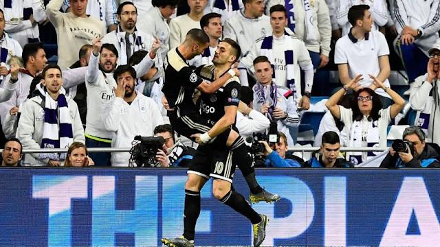 Real Madrid 1 - 4 Ajax