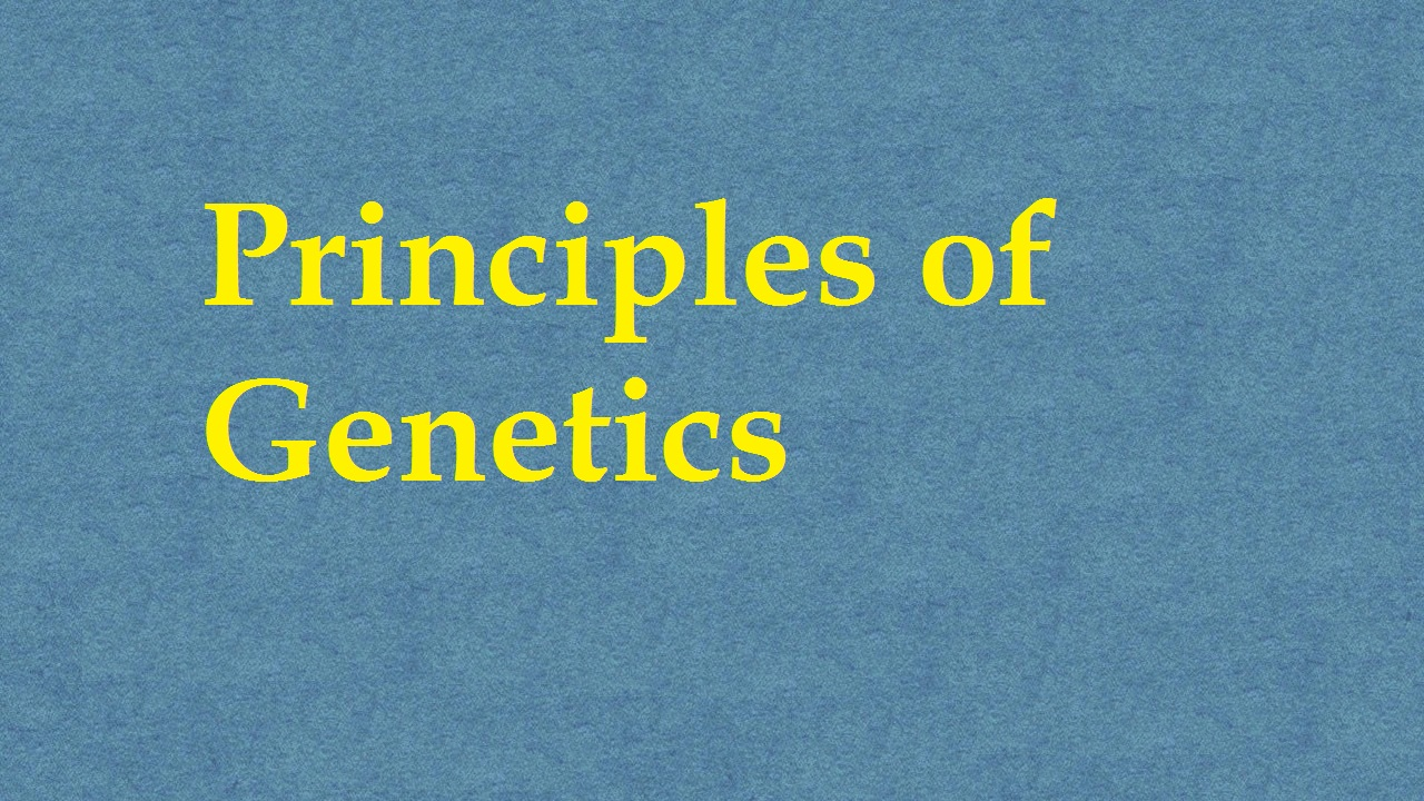 Principles Of Genetics ICAR E course Free PDF Book Download e krishi shiksha
