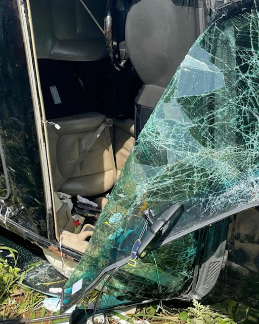 God You are Wonderful- Singer Oritsefemi says as he survives Ghastly accident (Videos)