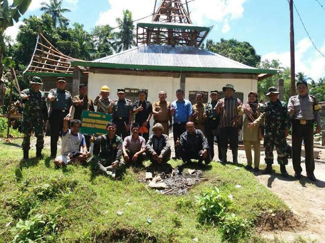 Danrem Kunjungi Lokasi TMMD di Padang Sago