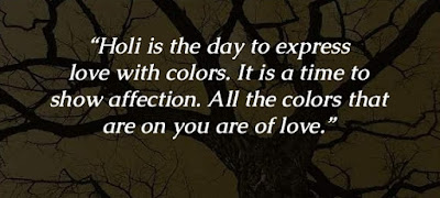 Happy Holi Facebook Whatsapp Status Quotes in Hindi English