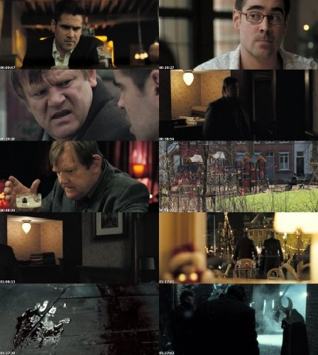 Screen Shot Of In Bruges 2008 300MB Full Movie Hindi Dubbed Free Download 480P BRRip Small Size PC Movie