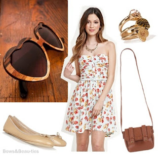 Edel Therese, PacSun, Urban Outfitters, wooden sunglasses, lolita