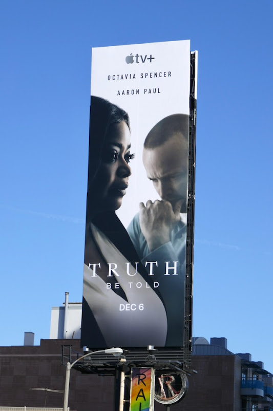 Truth Be Told series premiere billboard
