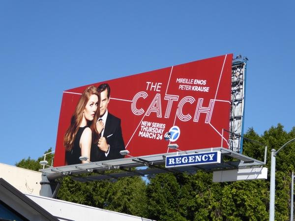 The Catch series premiere billboard