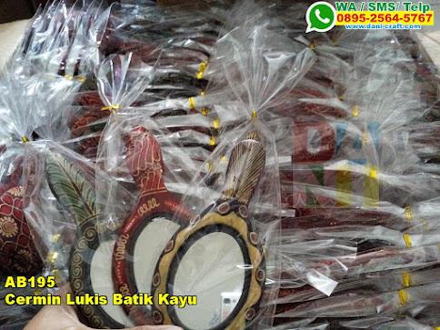 Harga Cermin Lukis Batik Kayu