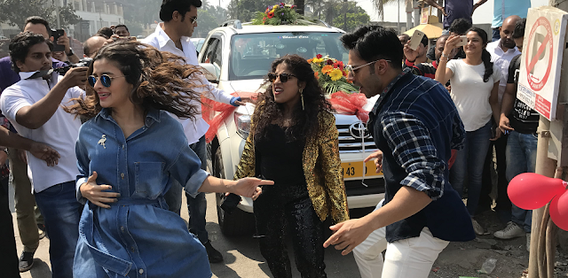 Bhadrinath ki Dulhaniya Cast and RJ Malishka Dance to Tamma Tamma