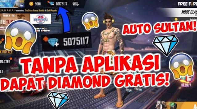 Diamond FF gratis 10000 Apk Unlimited Diamond 100%