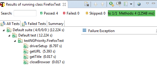 How to Set Priority of Test Cases in TestNG