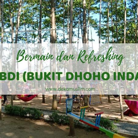 Bermain dan Refreshing di BDI (Bukit Dhoho Indah) Kediri
