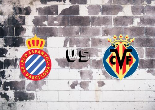 Espanyol vs Villarreal  Resumen