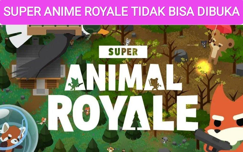 mengatasi super animal royale error pc