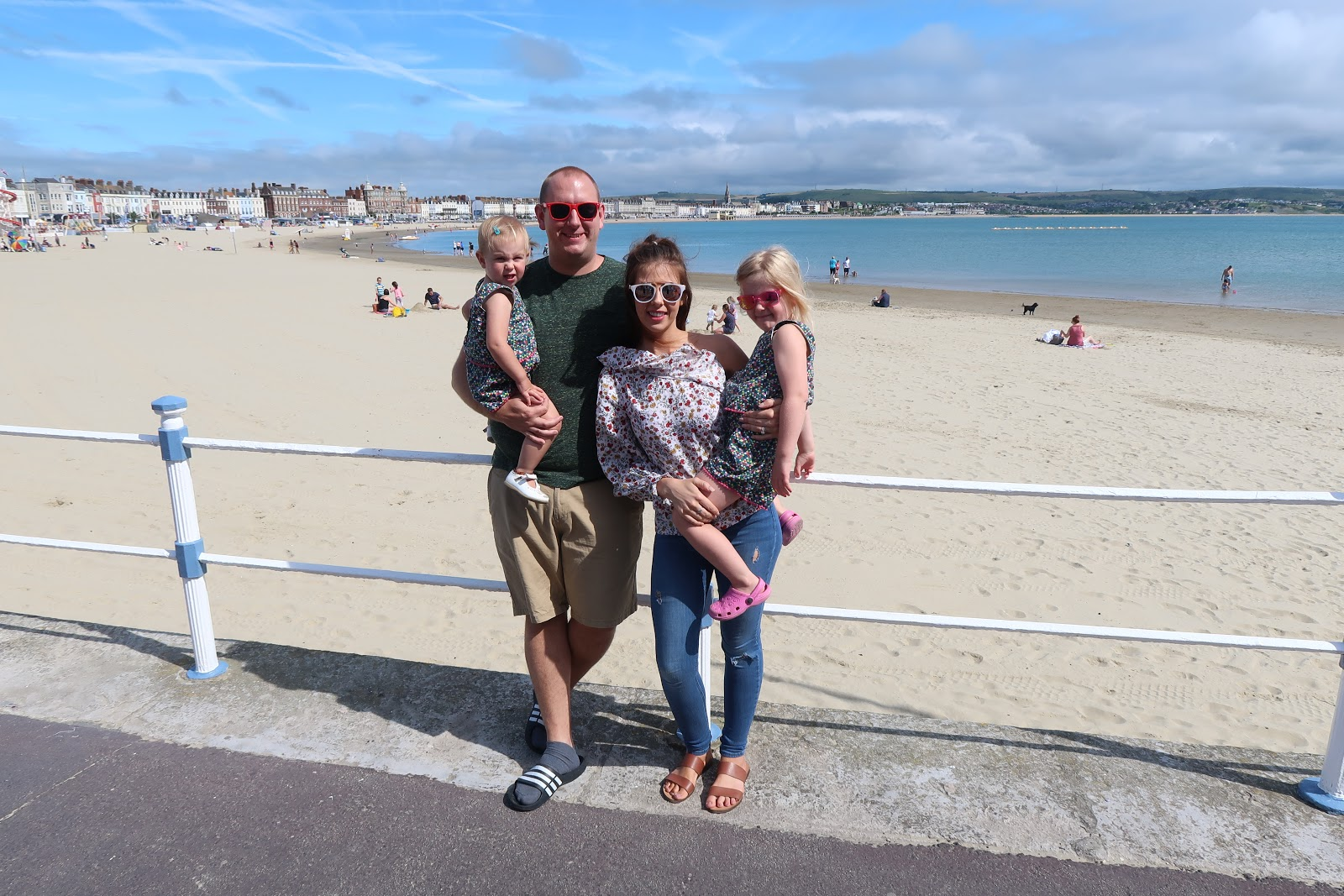 UK staycation in Weymouth