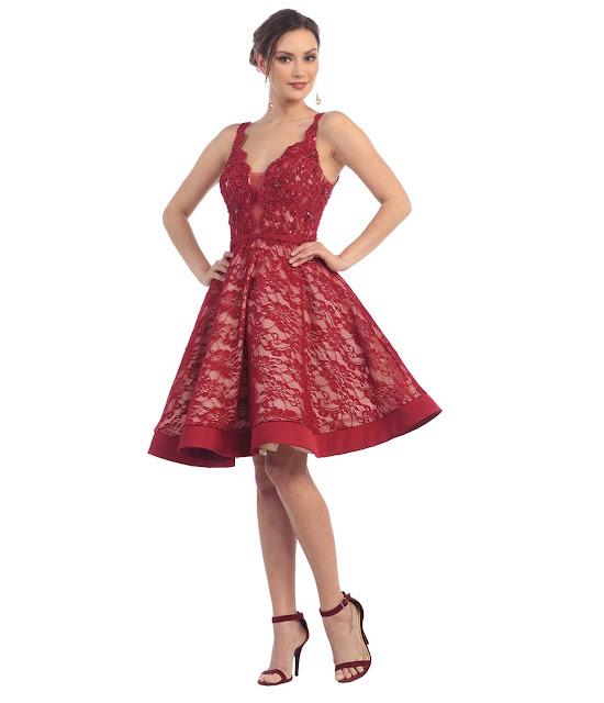 vestidos cortos de fiesta para gorditas jovenes