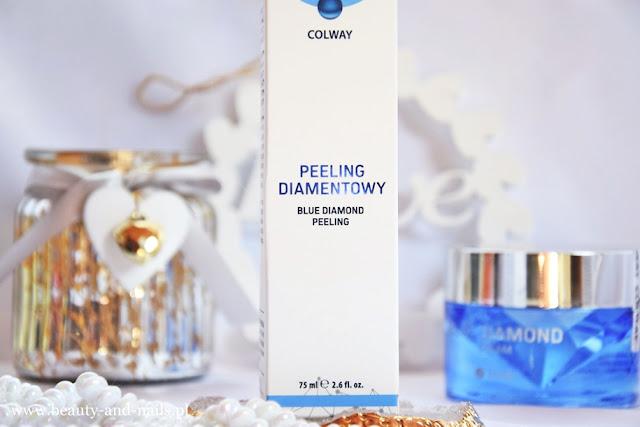 Peeling Diamentowy Blue Diamond Colway - LAGENKO