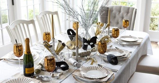 Decoraci n de mesas para a o nuevo decoraci n del hogar for Decoracion del hogar en navidad