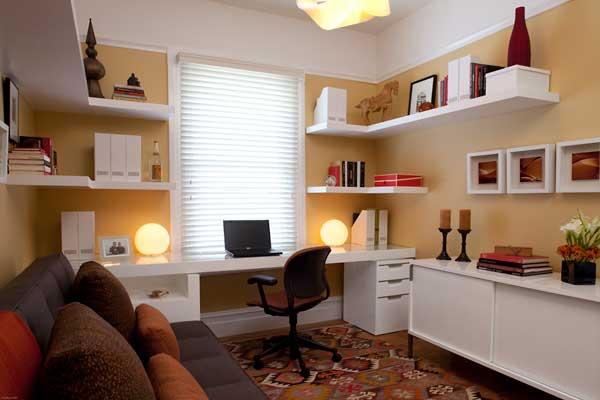 Decorilumina ideas para su moderna oficina en casa for Oficinas pequenas modernas en casa